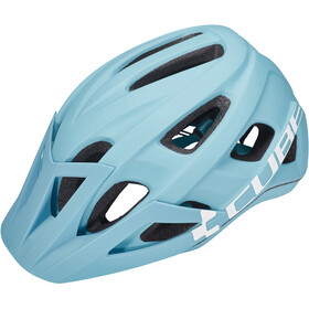 Cube Am Race Casque, iceblue'n'white